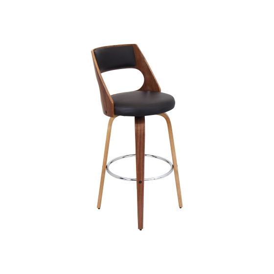 Cecina Barstool in Walnut Brown