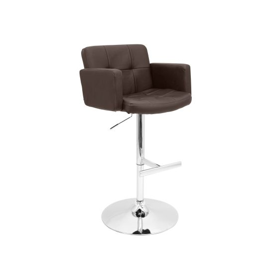 Stout Barstool in Brown