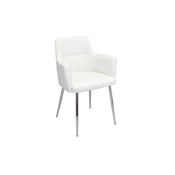 Andrew Dining Chair in White