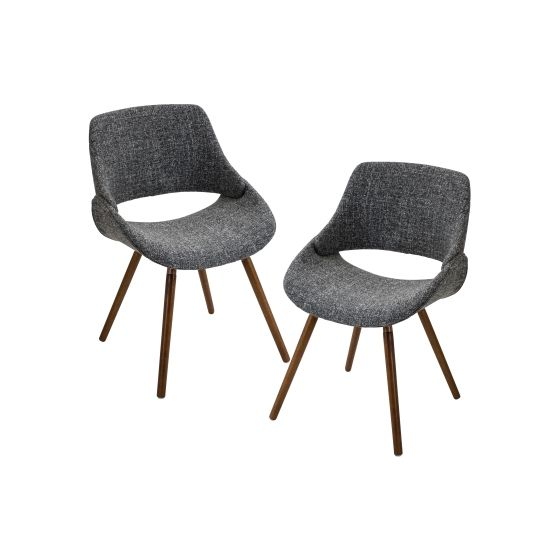 Fabrico Chair in Walnut - Set of 2