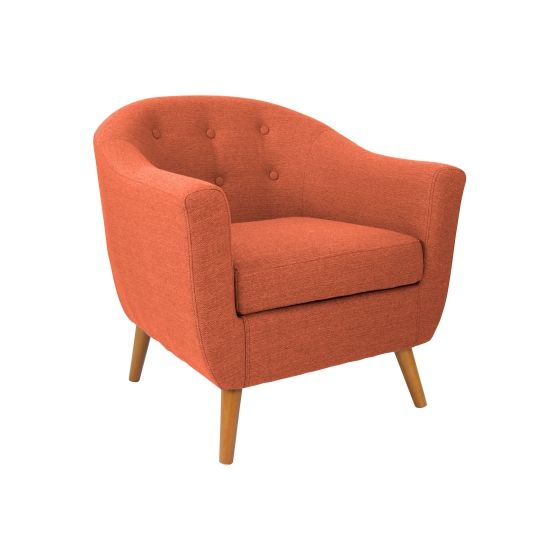 Rockwell Chair in Orange