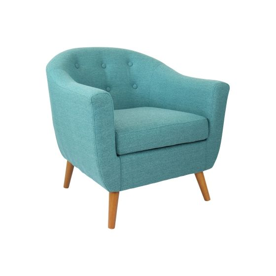 Rockwell Chair in Teal