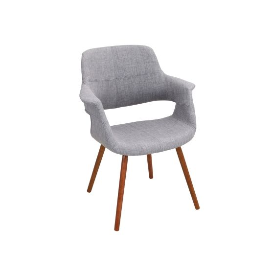 Vintage Flair Chair in Light Grey