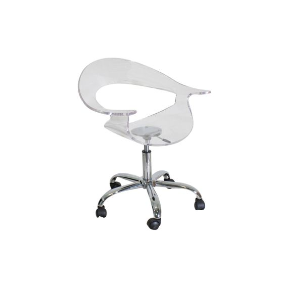 Rumor Office Chair in Clear