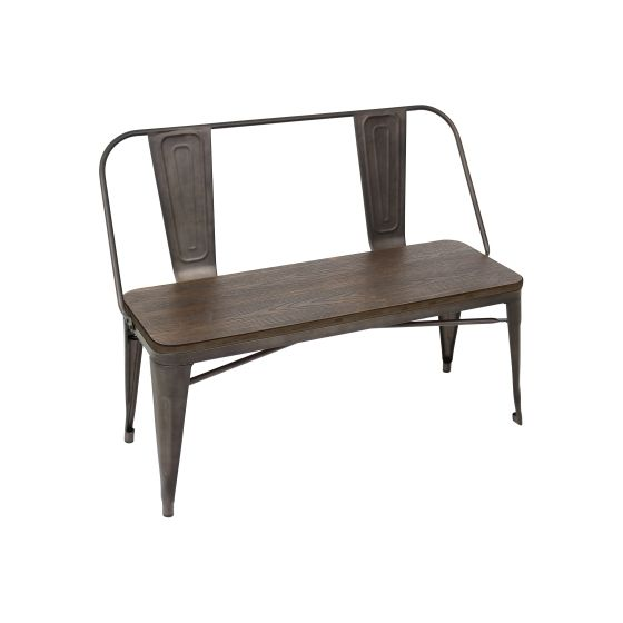 Oregon Dining Bench in Wood