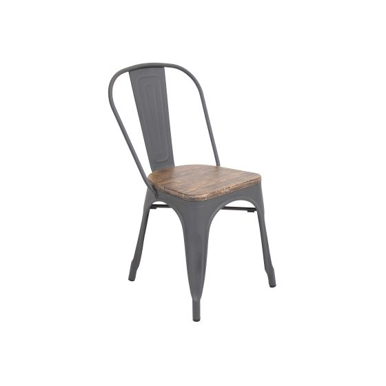 Oregon Dining Chair in Grey Wood