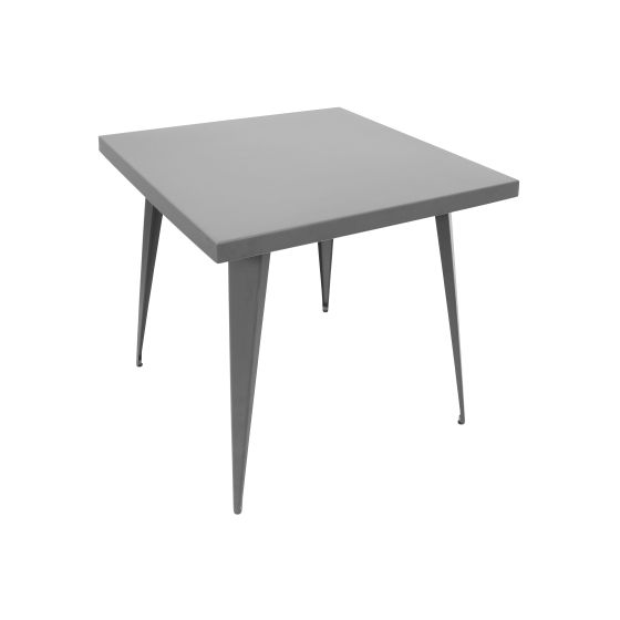 Austin 32x32' Dining Table in Matte Grey