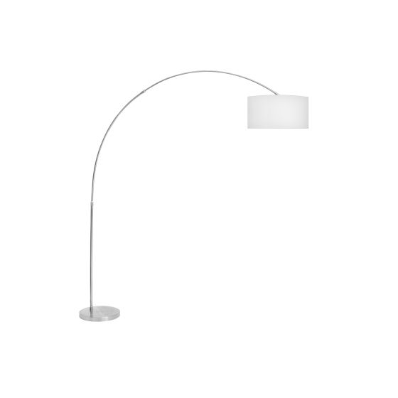 Salon Floor Lamp in White
