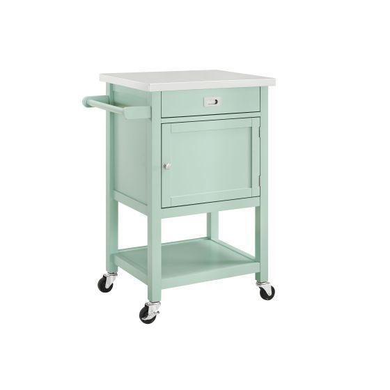 Sydney Green Apartment Kitchen Cart