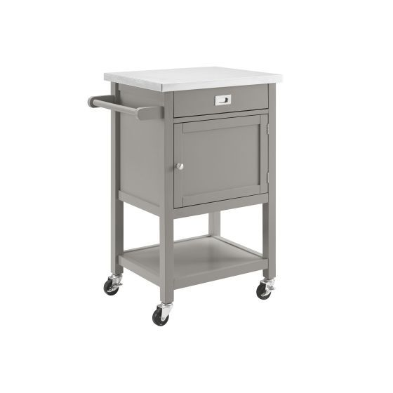 Sydney Gray Apartment Kitchen Cart