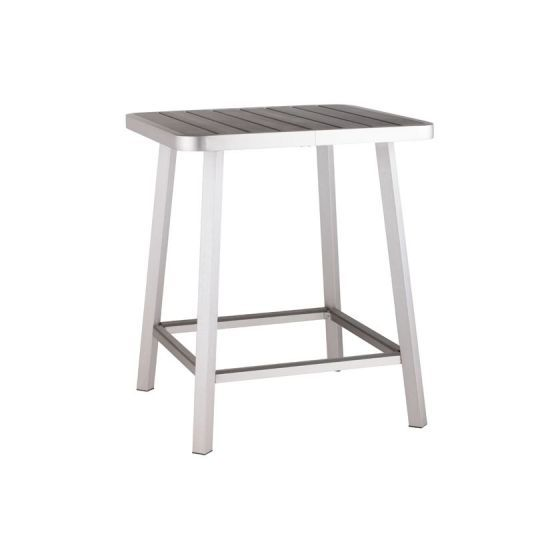 Megapolis Outdoor Pub Table in Gray