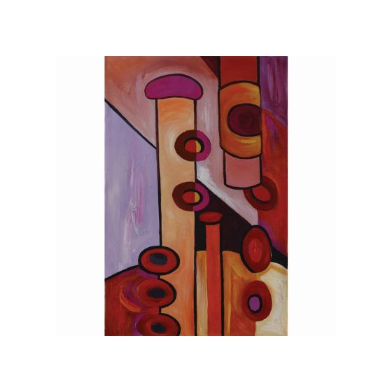 Absolutely Abstract Original Hand Painted Wall Art