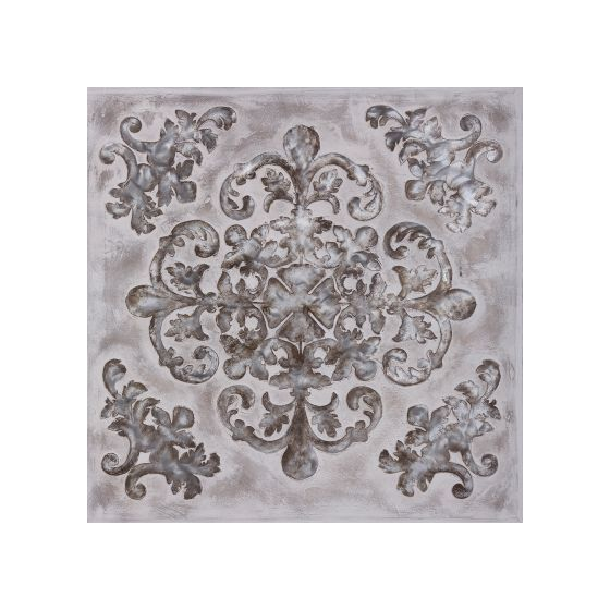 Perfection of the Ornate II Original Hand Painted Wall Art
