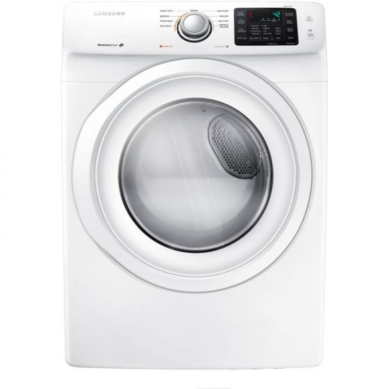 7.5 Cu. Ft. Front Load Electric Dryer in White