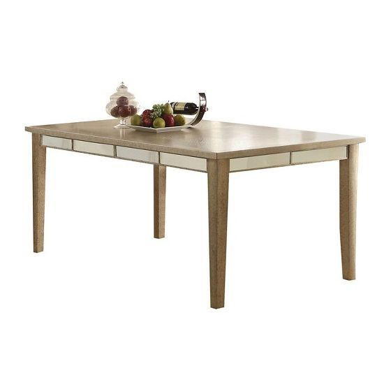 Voeville White Dining Table (Table Only)