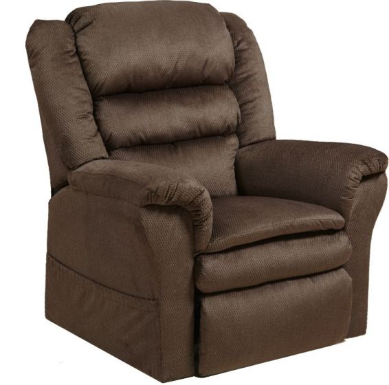 Preston Power Lift Recliner with Pillowtop Seat in Mocha