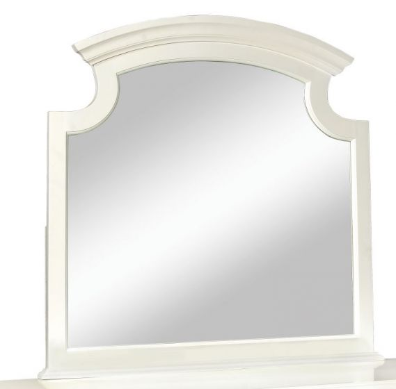 Bob's Mirror in White