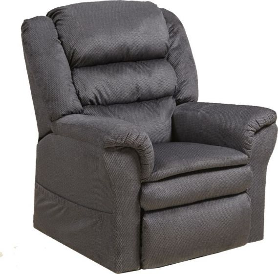 Preston Power Lift Recliner with Pillowtop Seat in Smoke