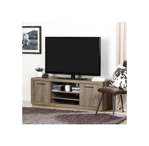 Kanji TV Stand for TVs up to 60'' Weathered Oak