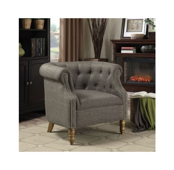 Barrel Back Accent Chair