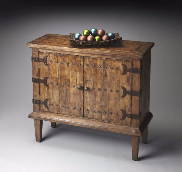 Mountain Lodge Rustic Console Cabinet