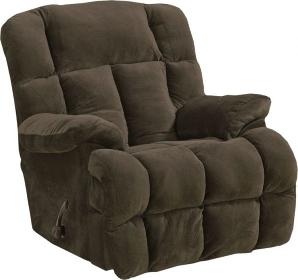 Cloud 12 Power Chaise Recliner in Chocolate