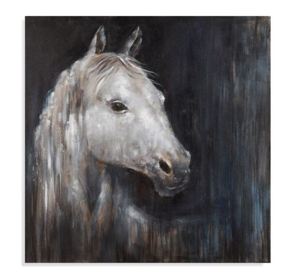 Mystical Horse in Canvas Wrap