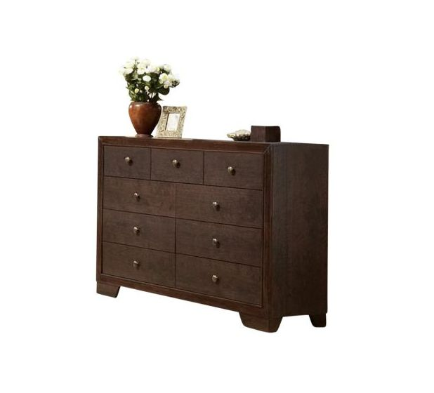 Madison Espresso 9-Drawer Dresser