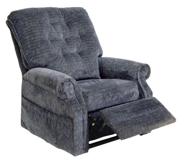 Patriot Power Lift Full Lay-Out Recliner in Slate