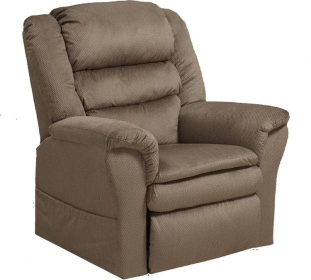 Preston Power Lift Recliner with Pillowtop Seat in Coffee