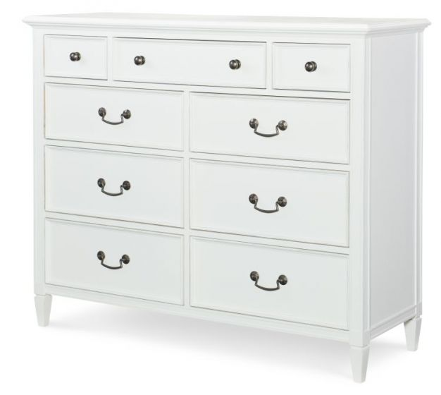 Upstate Media Chest In Bianco