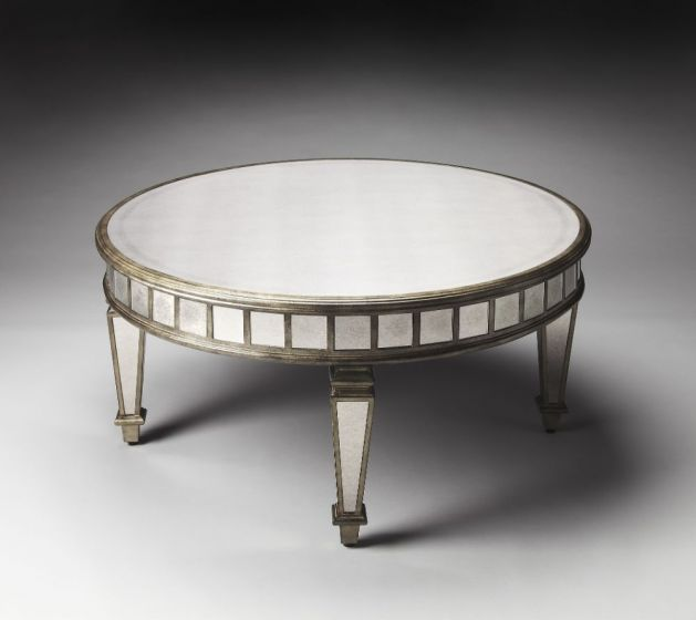 Garbo Mirrored Cocktail Table