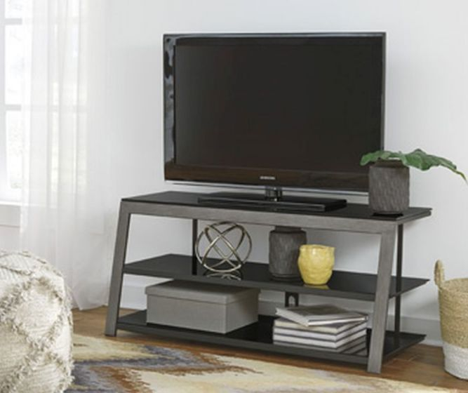 Rollynx TV Stand in Black
