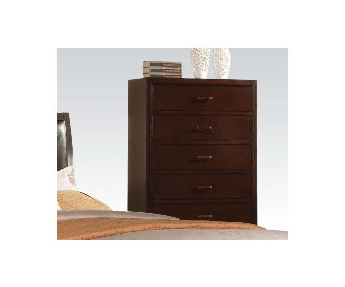Tyler Cappuccino 5-Drawer Chest