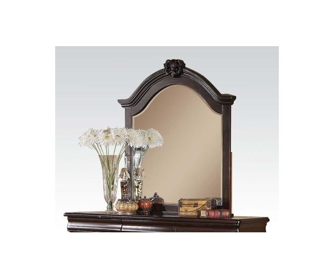 Roman Empire II Landscape Mirror in Cherry