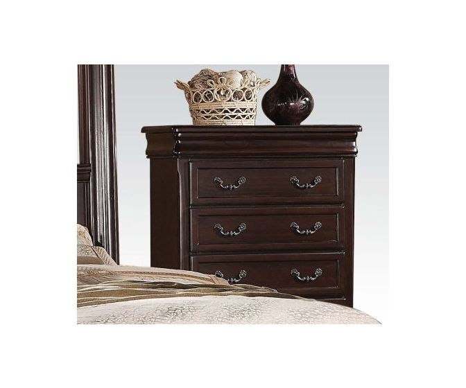 Roman Empire II Chest, Dark Cherry Finish