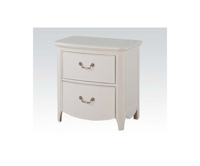 Cecilie Ginny's Nightstand in White