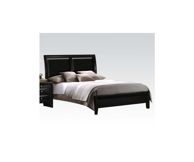 Ireland King Bed in Black