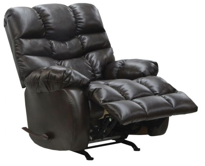 Berman Chaise Rocker Recliner in Coffeebean