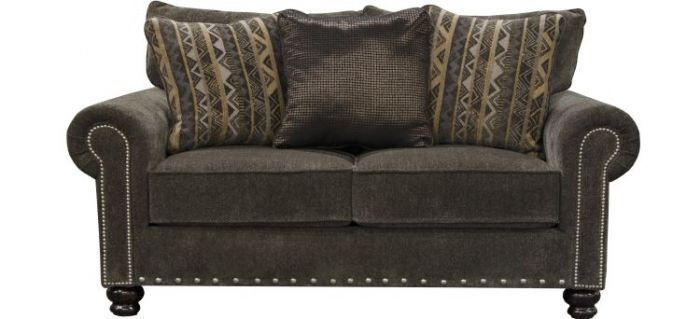 Avery Progressive Loveseat in Tiger's Eye