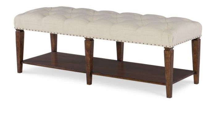 Upstate Upholstered Bench In Conciare