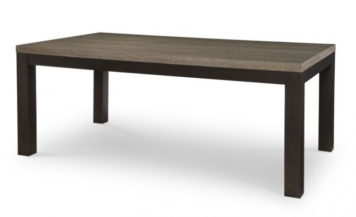 Helix Leg Table In Charcoal & Stone
