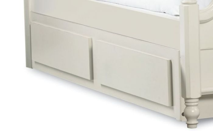 Inspirationals Trundle/Stor Drwr In Seashell White