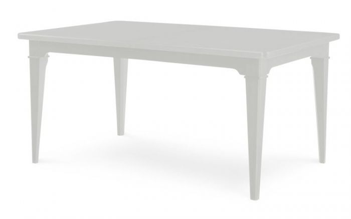 Upstate Stoneberry Dining Table In Bianco