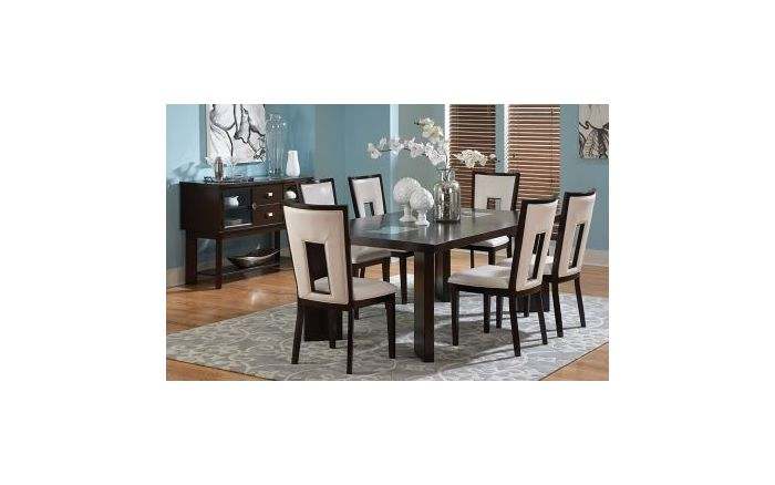 Delano 7 Piece Dining Set with Sideboard