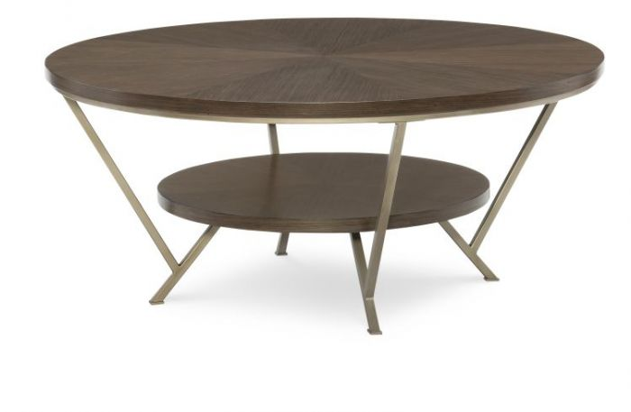 Soho Cocktail Table Round In Ash