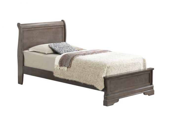 Bob's Twin Bed in Grey