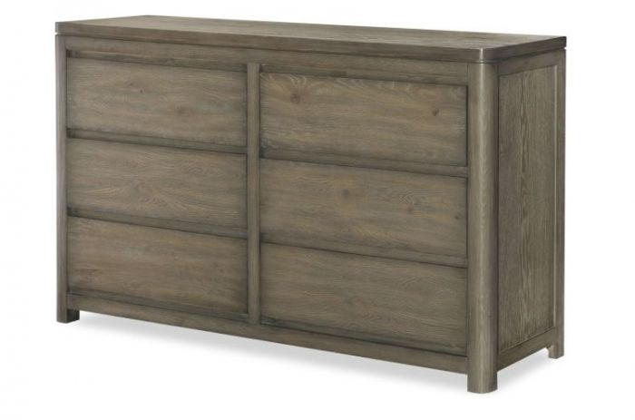 Big Sky Dresser In Weathered Oak