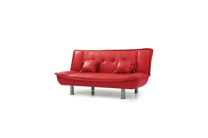 Sofa Bed in Red