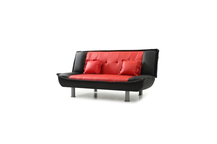 Sofa Bed In Red Black Sofa Beds Living Room Seating Living Room